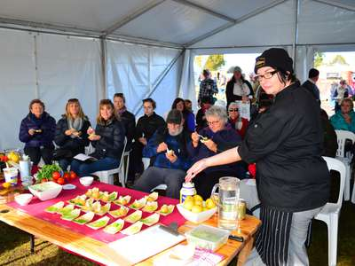 Delicious dishes at Trout Weekend 2017