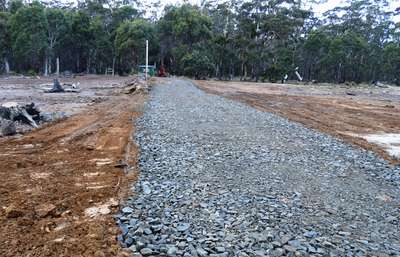 The upgraded Kalangadoo Bay boat ramp at Lake Leake.